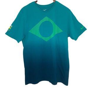2016 Brazil Olympics / Athletic Cut Ombré T-Shirt